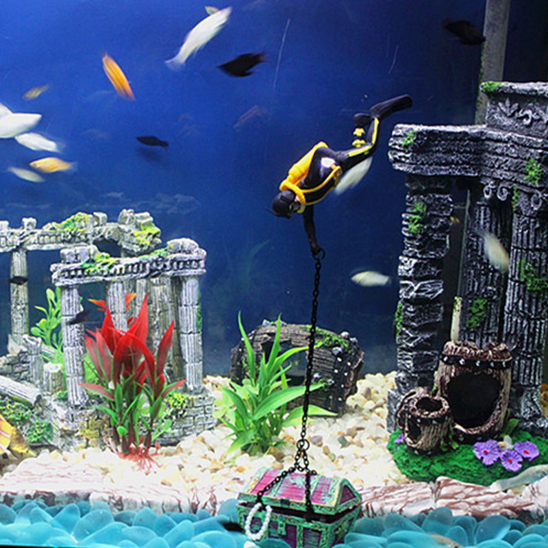 Popular 150g fish tank buy cheap 150g fish tank lots from for Aquarium decoration ideas cheap