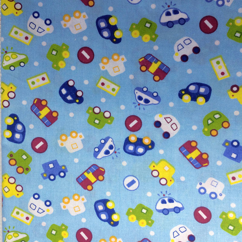 1 piece 40 50cm 100 cotton cute cars boys style printed for Boys cotton fabric
