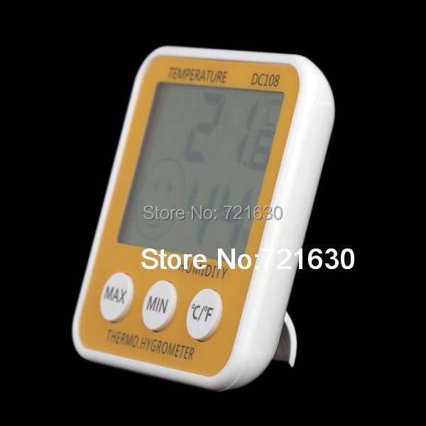 Digital LCD Thermometer Hygrometer Humidity Temperature Meter Indoor / with Comfort Level Icon(China (Mainland))