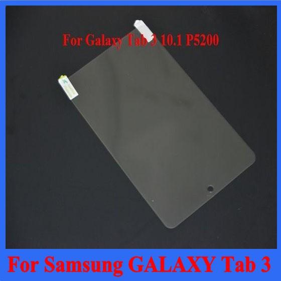 Защитная пленка для экрана HQ Samsung 3 P5200 gt/P5200 Lcd 500  For Samsung GALAXY Tab 3 P5200 цена и фото