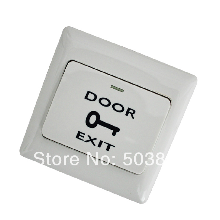 A6 entrance guard system/plastic push button switch/86 specifications/entrance guard button switch(China (Mainland))