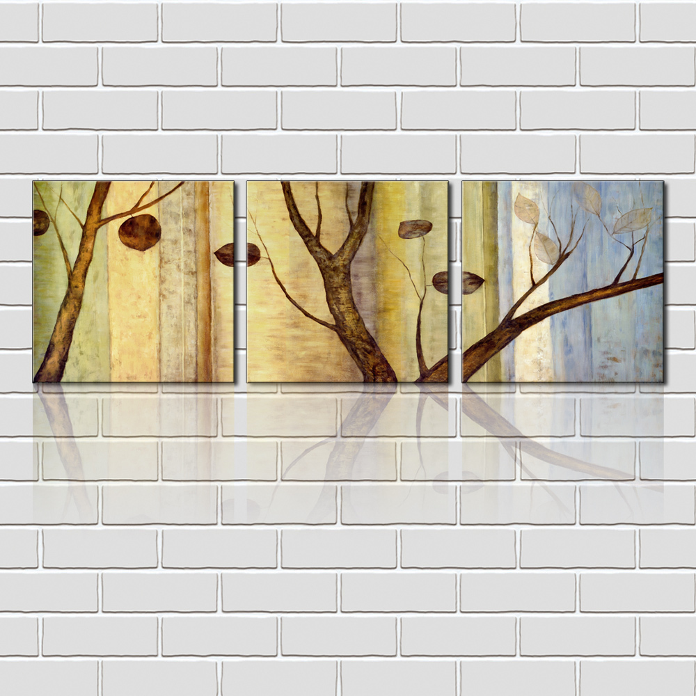 Wall Art Set Branch Tree Painting Art Prints For Home Goods Wall