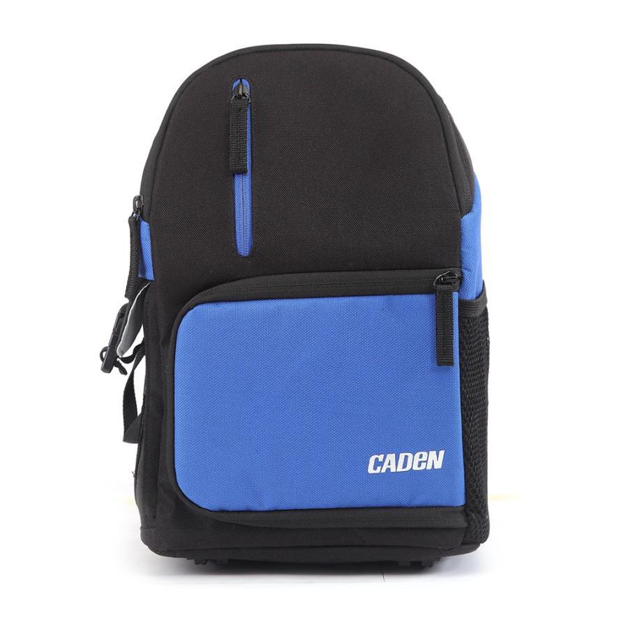 1PC CADEN D5 Travel Shoulder Messenger Bag Camera Carry Case for Canon DSLR SLR  DEC15