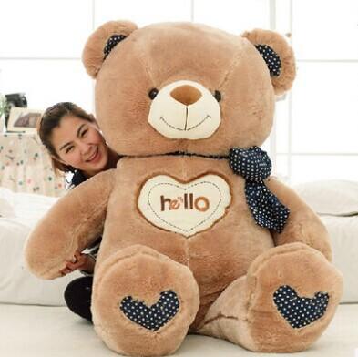 Pernycess 1pcs 110cm Bear cute oversized pillow stuffed toys<br><br>Aliexpress