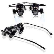 20x que magnifica los vidrios del ojo de la lupa de la lente del reloj del joyero de reparación WR1