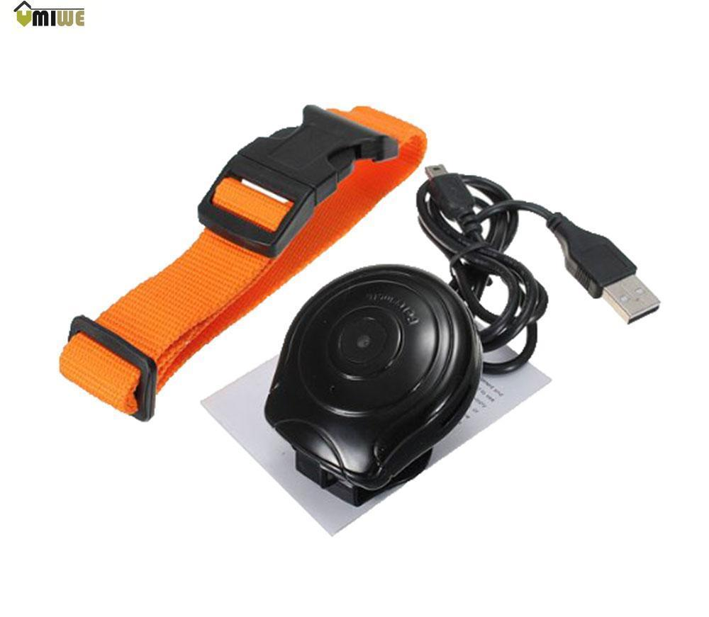 Umiwe Digital Pet Collar Camera DVR Video Recorder Monitor for Dog Puppy (Black and Orange)(China (Mainland))