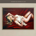 Hand Painted Modern Oil Painting On Canvas The Sleeping Beauty Sexy Women Painting Wall Art Impression