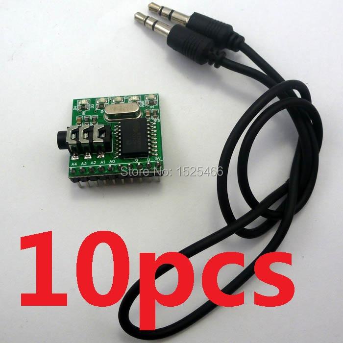 10pcs MT8870 DTMF Receiver Telephone Dial Tone Decoder Phone Voice Control Module(China (Mainland))