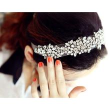 5 Pack NEW Lace Rhinestone Net Yarn Hair Head Bands Hoop Accessories Hairband Headbands