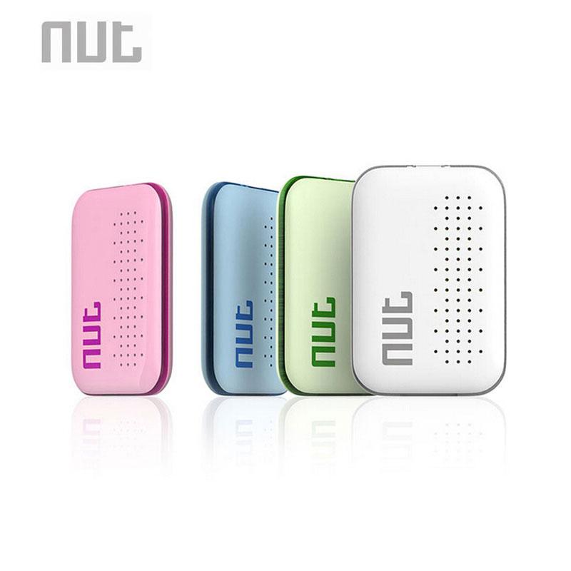 Nut Mini Smart Tag Bluetooth Key Finder Locator Sensor Alarm Anti Lost Wallet Pet Child Locator (Green / White / Pink / Blue)(China (Mainland))