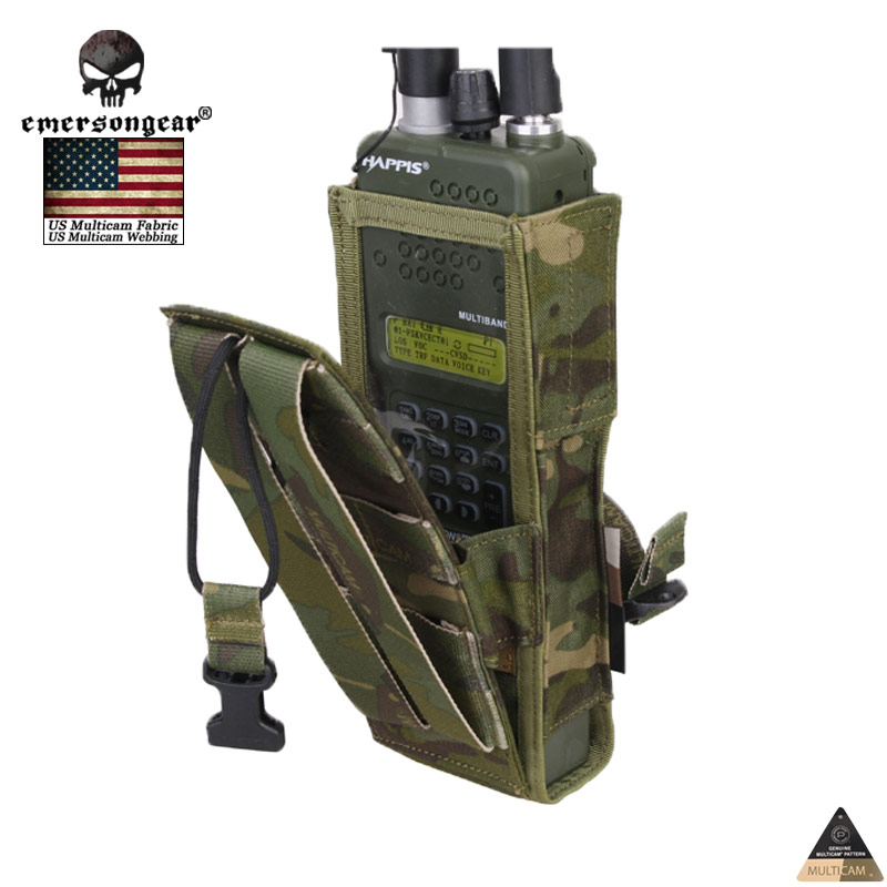 Military Hunting Camping Radio Pouch EMERSON PRC148/152 Tactical Radio Pouch MCBK EM8350<br><br>Aliexpress