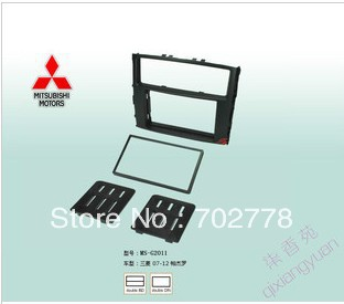 2 Din Special Car Audio Refitting Frame,Fascia, Dash Kit, Radio Frame, DVD Panel Mitsubishi Pajero (Montero), DIN