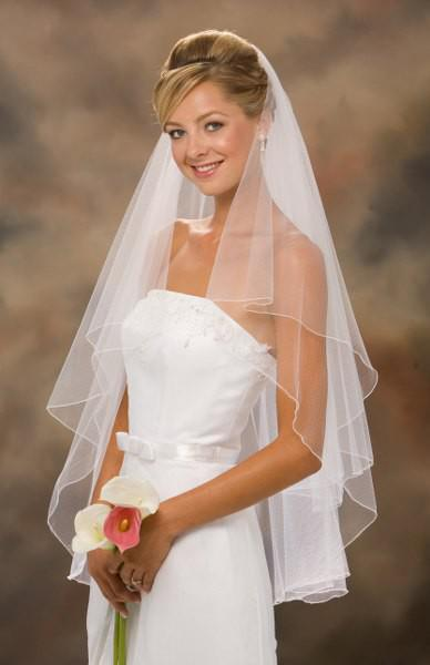 Cheap Short Wedding Veil Comb White Ivory Bridal Veils Veu De Noiva Curto Accessories Imported China - one dress shop store