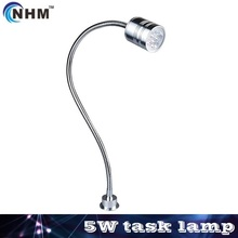 NHM 5W 24V/100-240V LED gooseneck  task/work lamp,CNC miller lathe/other industrial machine tool lights(China (Mainland))