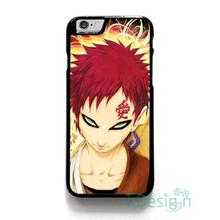 Fit for iPhone 4 4s 5 5s 5c se 6 6s 7 plus ipod touch 4/5/6 back skins cellphone case cover NARUTO GAARA ANIME