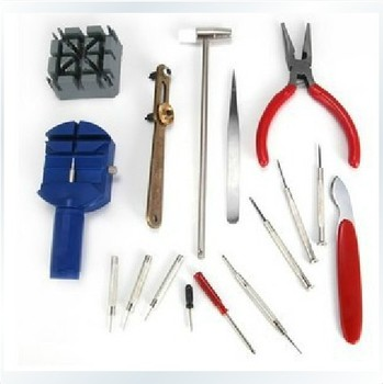 wholesale 16 PCS  Watch Tool Set Watch Repair Tools Kits watch fix tools suit  FREE SHIPPING