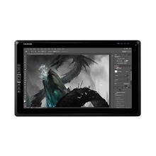 Huion New GT-185 TFT 18.4″ Diagonal 8 Customizable Express Keys Interactive Graphics Pen Tablet Monitor Display with Black Glove