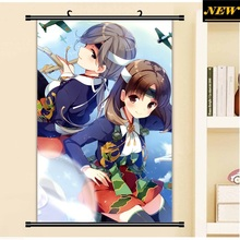 40X60CM Kantai Collection KanColle chitose chiyoda cameltoe Cartoon Anime wall picture mural poster cloth scroll canvas painting