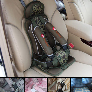 Vehicle-mounted baby chair protecting infant cover belt children child safety car seat free shipping(China (Mainland))