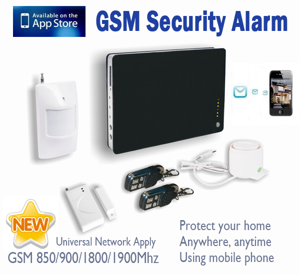 Buy ios android apps supported smart for Smart home alarm system