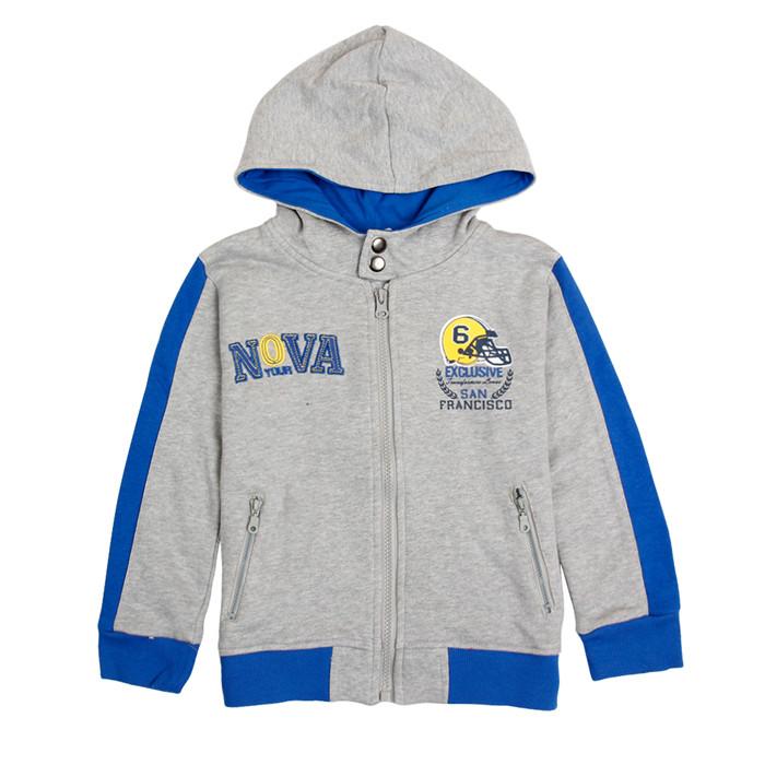 nova kids clothes popular patten boy hoodie 2015 newest design zipper winter children coats baby jacket 3-8y
