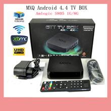 2016 New Android TV BOX MX Amlogic S805 Quad Core font b IPTV b font Android
