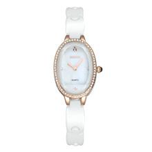 WEIQIN New Fashion Ceramic Band Ladies Watch Luxury Brand Women Dress Watches Quartz Wristwatches Atmos Clock Montre Femme
