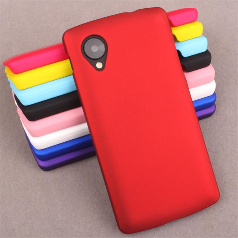 Coque LG Nexus 5 Case Rubber Plastic Hard Ultrathin Frosted Shield Matte Case Protective Nexus 5 Cover Phone Cases Fundas