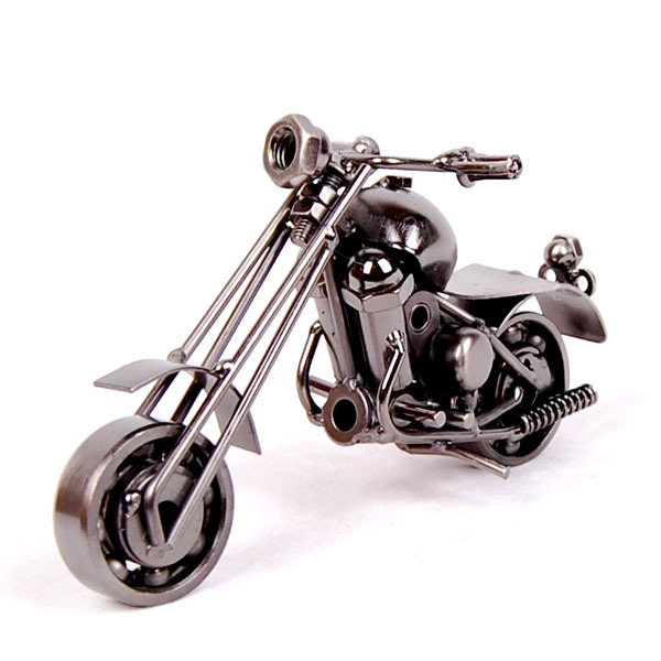 Furniture office accessories iron crafts personality desk gift motorcycle model decoration