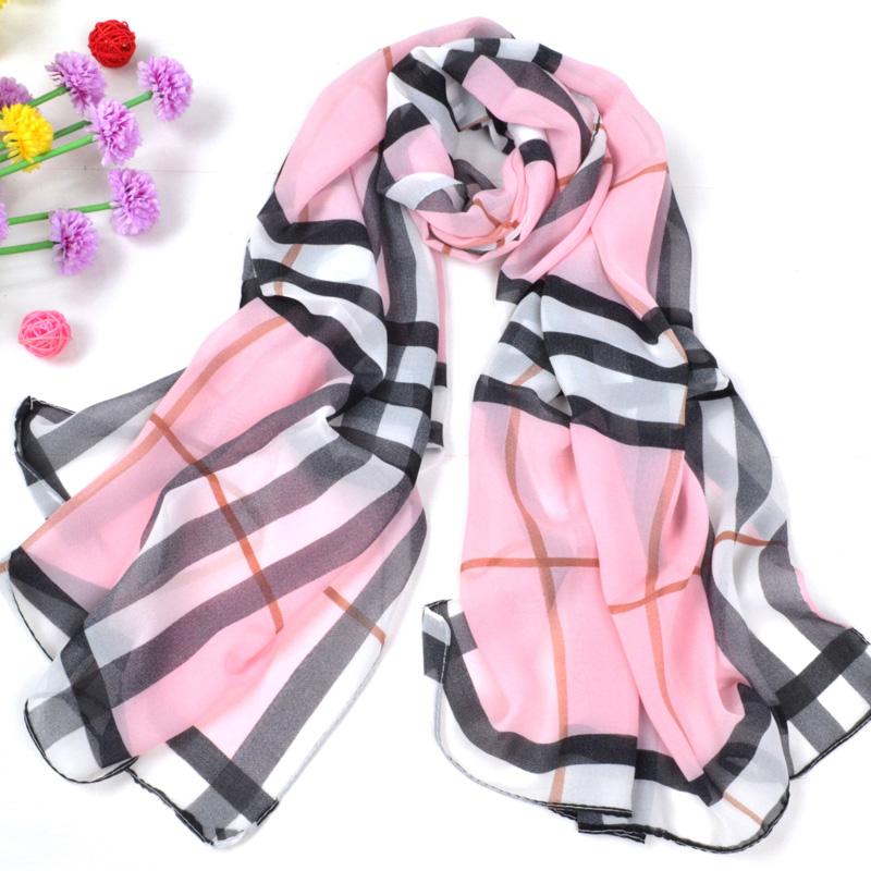 2015 Spring brand scarf women High quality fashion silk scarf plaid scarves desigual scarf female bufandas mujer W0125(China (Mainland))