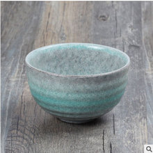 Japanese hot sale small size rice bowl, matcha tea bowl, ceramic sushi bowl, wind soup bowl tableware novelty