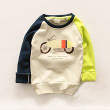 Cemigo 2016 New Kids Spring Hoodies Boys Casual Sweatshirts Children Long Sleeve T-shirts Girls Fashion Tops Clothes IU434(China (Mainland))