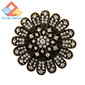 Popular Cute Flower Brooch Full Created Diamond Exquisite Broochs for Women Free shipping