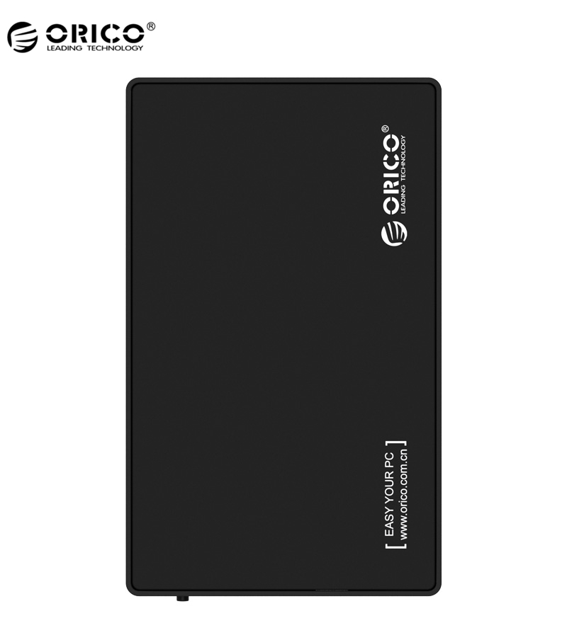 ORICO 3.5-inch SATA External Hard Drive Enclosure, USB 3.0 SuperSpeed, Tool Free Enclosure for 3.5