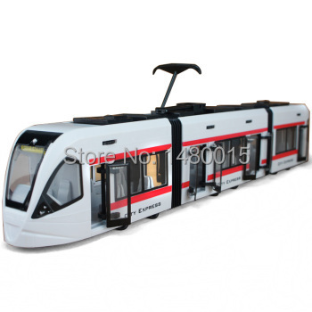 Free shipping!City Rail train model,The door can be opened,subway,commander 47cm!(China (Mainland))