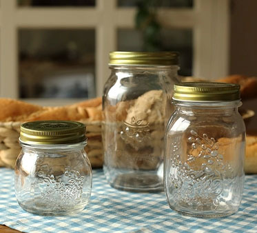 Free shipping glass canned bottle honey bottle storage jar jam bottle pickles sealing glass jar(China (Mainland))
