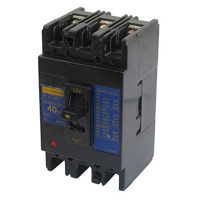AC 220V 40A 10KA 3P 3 Pole MCCB Moulded Case Circuit Breaker NF50-SS<br><br>Aliexpress