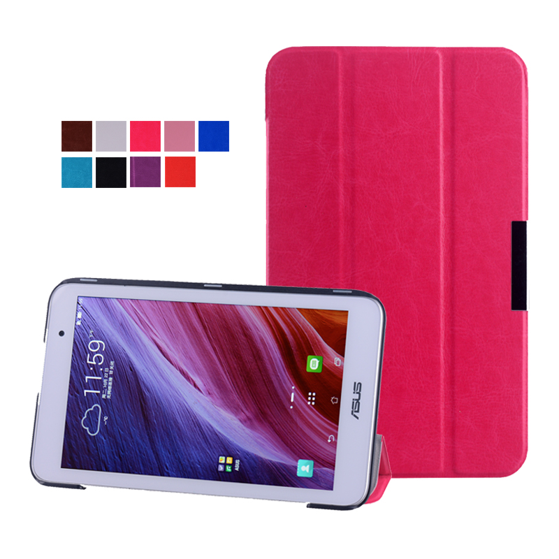 For Asus MeMO Pad 7 ME176 ME176C ME176CX 7 inch tablet slim magnet popular pu Leather Stand Cover Case(China (Mainland))