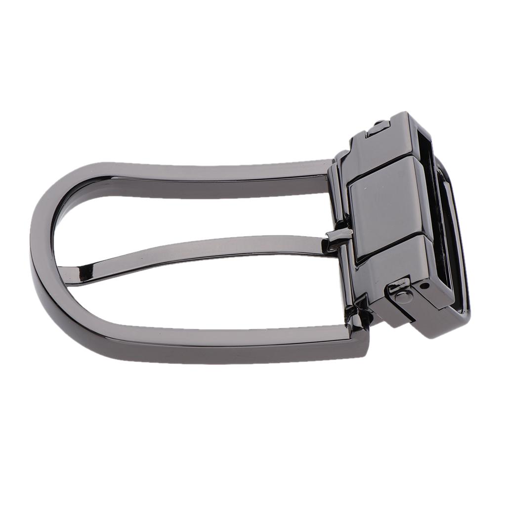 DIY Metal Heavy Duty Hand Bag Shoe Strap Belt Web Adjust Roller Pin Buckle Snap Rectangle Ring for Women Men