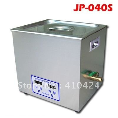 40kHZ jp-040S digital timer & heater control ultrasonic cleaner 10L for hardware parts(China (Mainland))