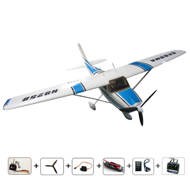 RC airplanes Cessna 182 EPO Brushless version 810mm small ...