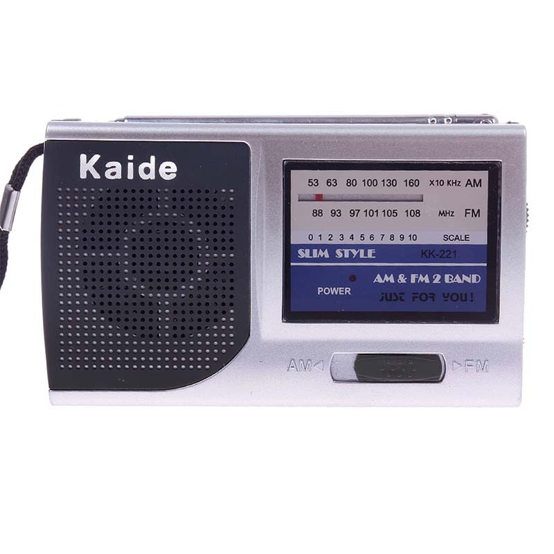 Mini Portable AM FM Pocket Broadcasting Radio 2 Bands Receiver DC 3V #57214(China (Mainland))