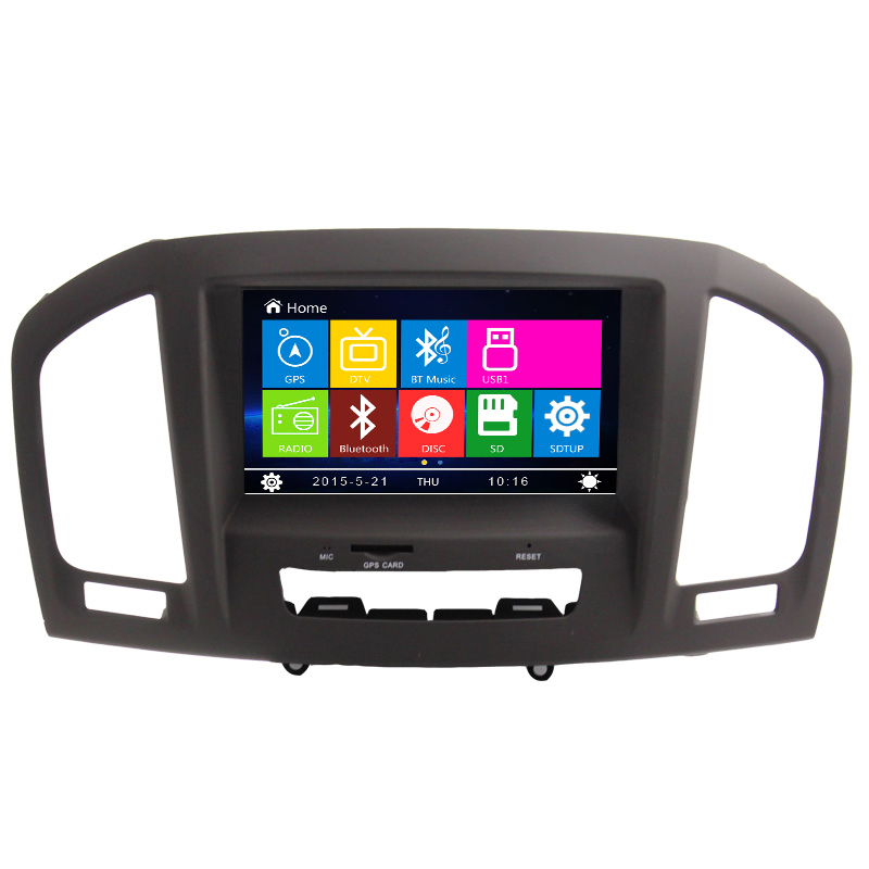 8 hd car dvd player gps navigation for buick regal opel insignia vauxhall 2011 2012 2013 can. Black Bedroom Furniture Sets. Home Design Ideas