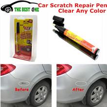Economic simoniz Fix It Pro Mending Car Remover Scratch Repair Paint Pen Clear Coat Applicator With Retail Box Free Shipping(China (Mainland))
