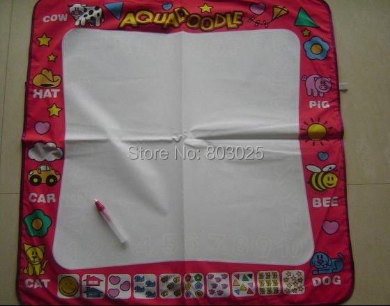 Wholesale 20pcs/lot 80*80cm Aquadoodle Drawing Mat &1 Magic Water Pen/Magic Water Drawing Toy,Doodle Mat Toy(China (Mainland))