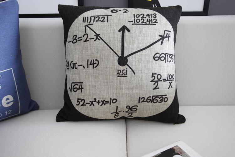 Nordic Modern Science Watches pillow home Pillow cushion Linen pillowcase cushion home decor decorative Pillows