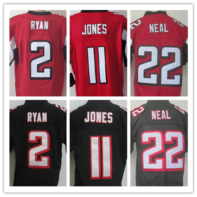 2 Matt Ryan 11 Julio Jones Jersey 24 Devonta Freeman 84 Roddy White 88 Tony Gonzalez(China (Mainland))