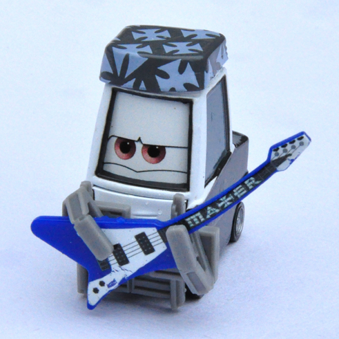 Bassist of Heavy Metal Band of Pixar Cars,Mini Alloy Toy Car,1:55 Scale, Diecast Metal Model Classic Vehicles(China (Mainland))