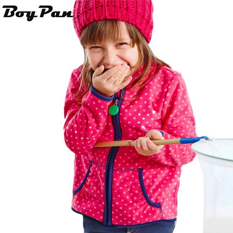 New 2015 Autumn Child Cardigan Coat Girls Double-Sided Wear Polka Dot Fleece Jacket Sweater Kids Outwear Warm Hoodies(China (Mainland))