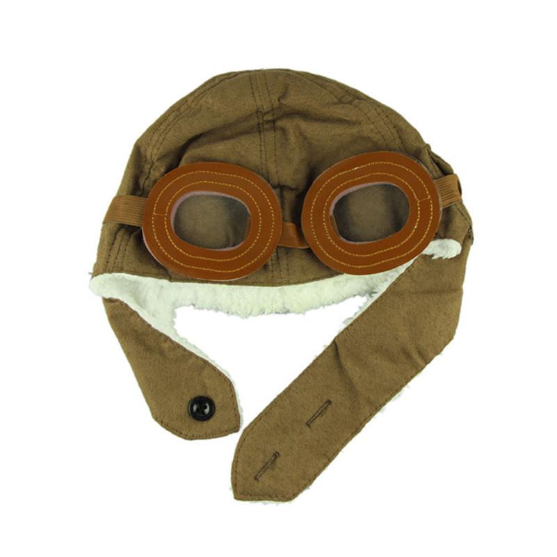 Гаджет  Stylish 2014 New Design Winter baby earflap Pilot cap children flyer hats flight caps None Детские товары